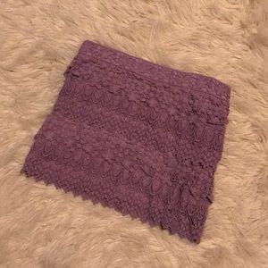 Beautiful crochet AE skirt